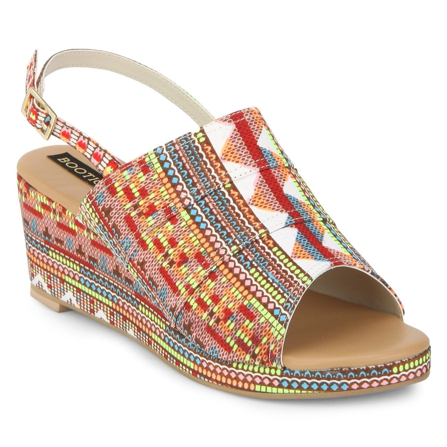 Aztec Print Wedge - Uptownie
