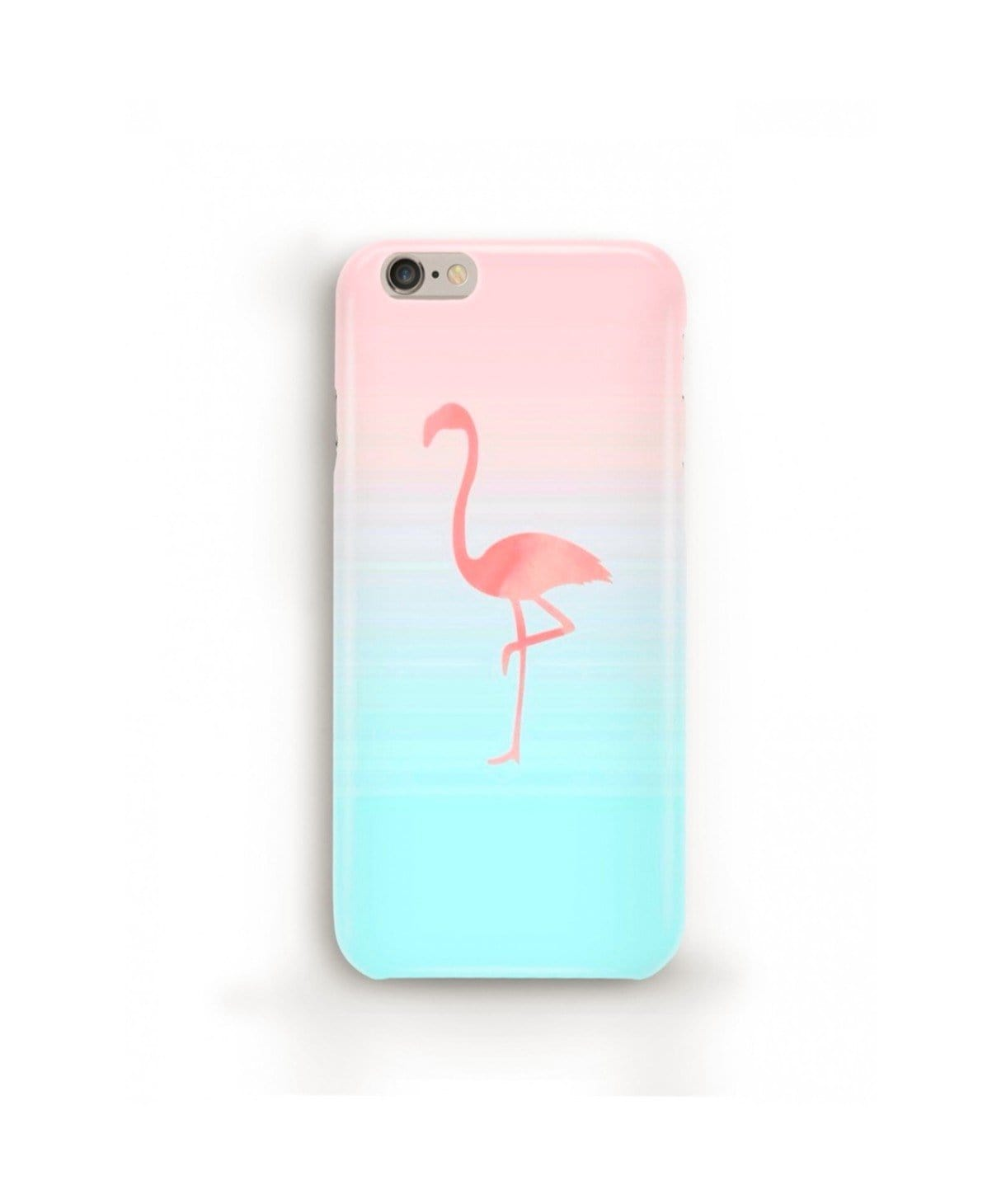 Ombre Flamingo IPhone Cover (Personalisation Available) - Uptownie