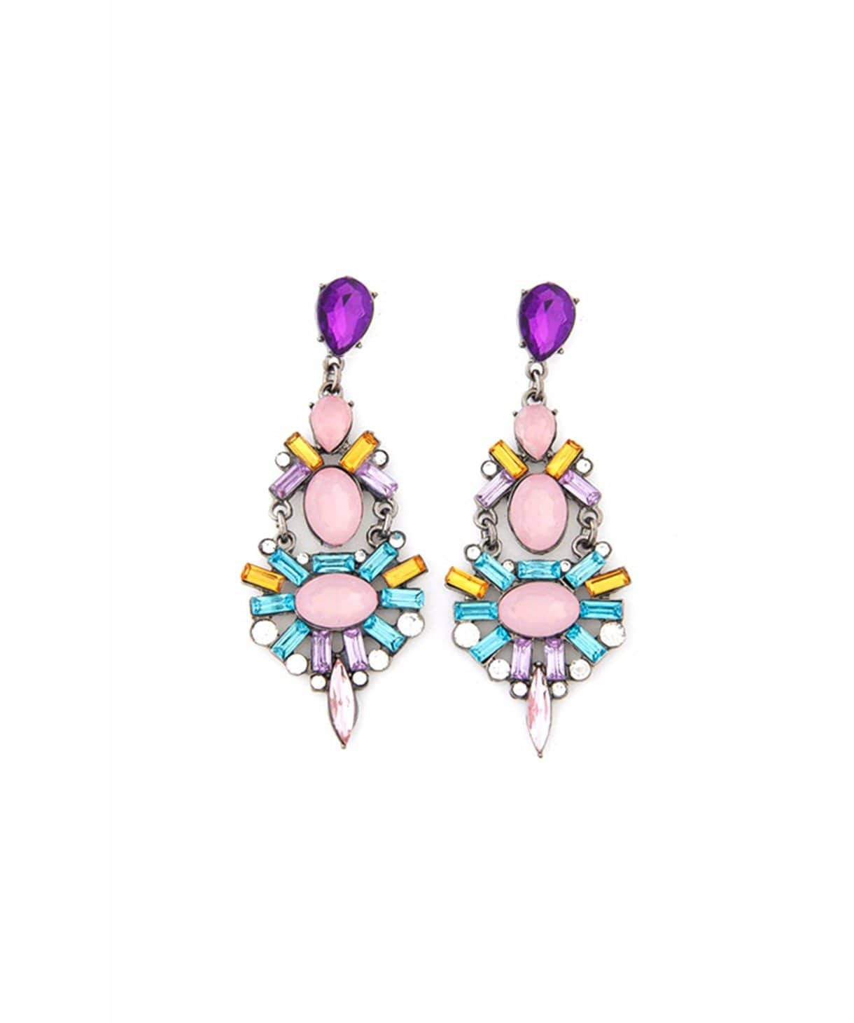 Orchid Jazz Earrings - Uptownie