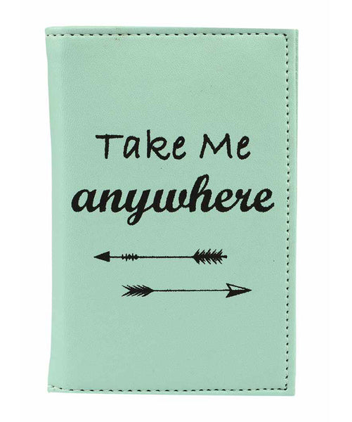 Uptownie X 2AM-Take Me Anywhere Mint Passport Holder