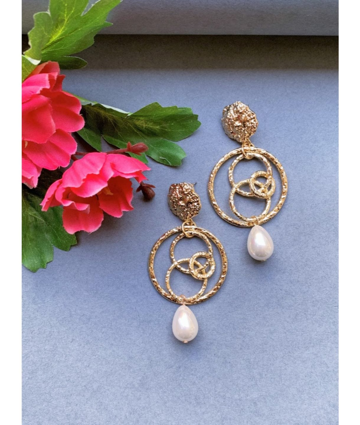 MARIA PEARL EARRINGS