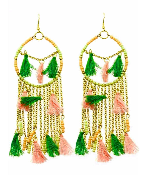 Pastel Dreamcatcher Earrings - Uptownie