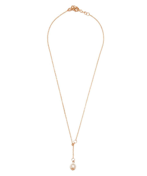 Pearl Dainty Necklace - Uptownie