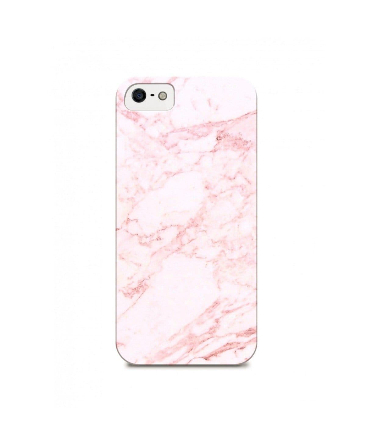 Pink Marble IPhone Cover (Personalisation Available) - Uptownie