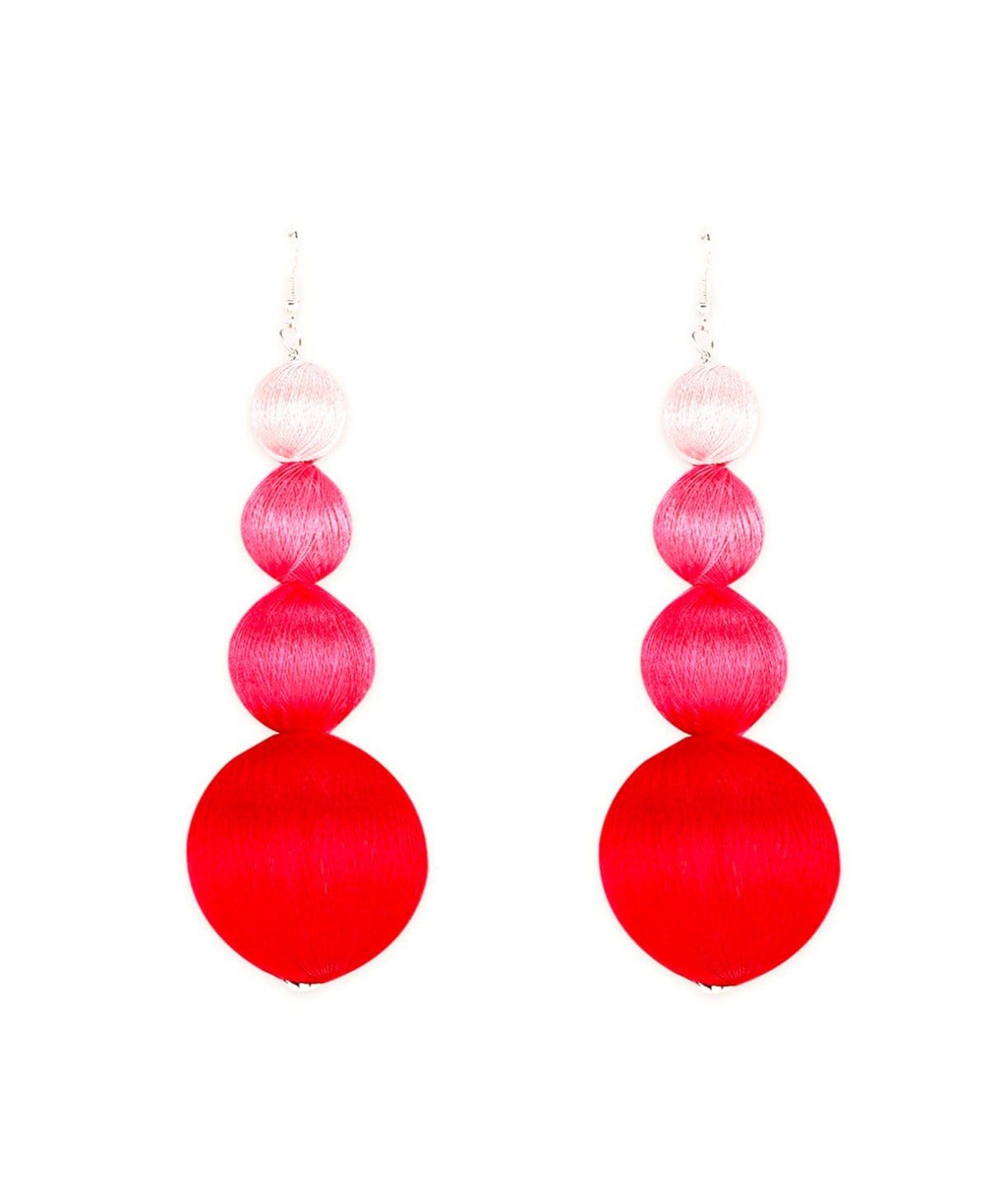Pink Ombre Earrings - Uptownie
