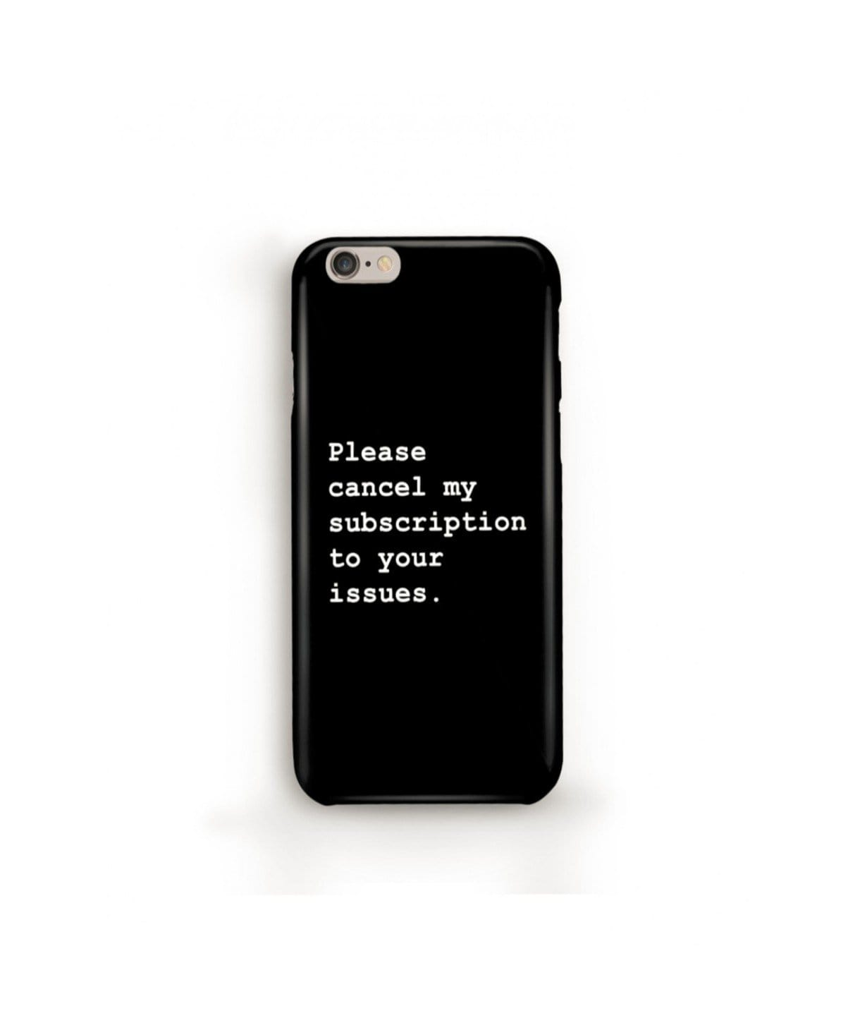 Please Cancel My Subscriptions IPhone Cover (Personalisation Available) - Uptownie
