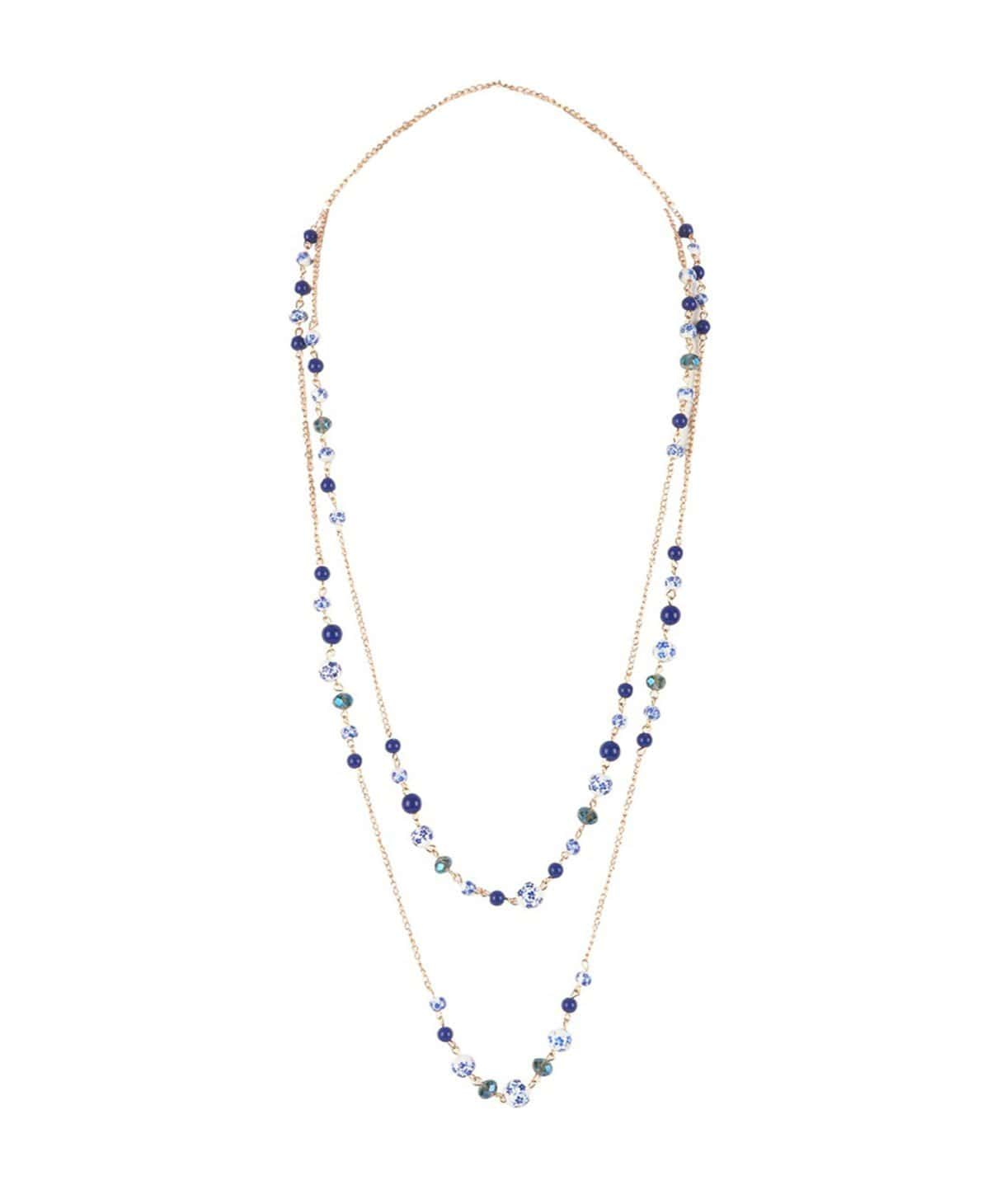 Porcelain Bead Necklace - Uptownie