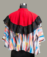 Solid & Striped Cape