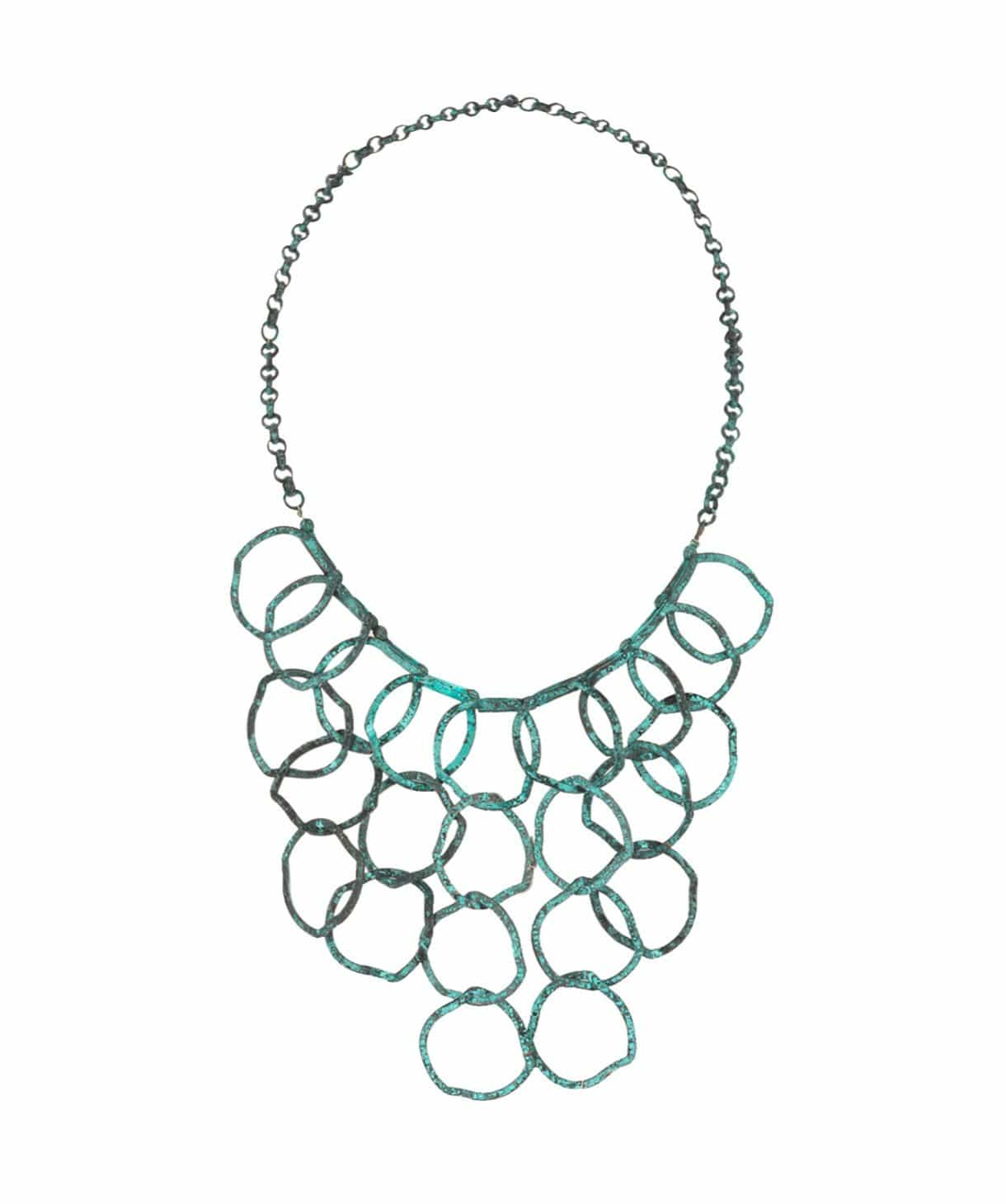Ring Bib Necklace - Uptownie