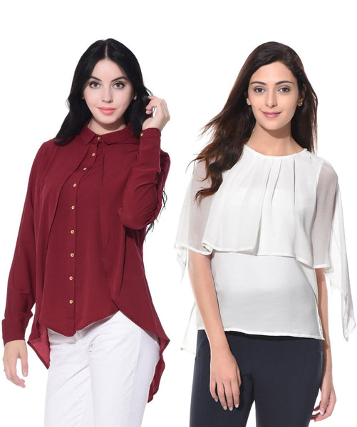 Ruffle Tops Super Saver Combo. COMBOS AT INR 399