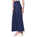 Uptownie Plus Navy Blue Solid Palazzo 2 clearance sale