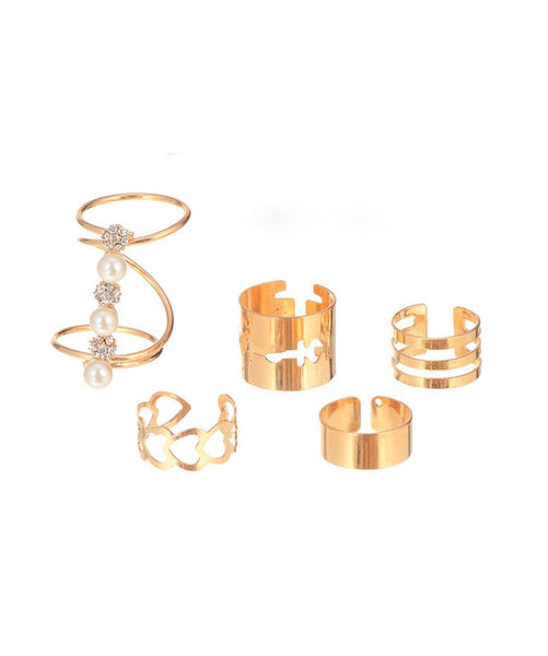 Swirl Ring Set - Uptownie