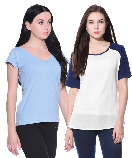 The Basic Blue T-Shirts Super Saver Combo. COMBOS AT 399