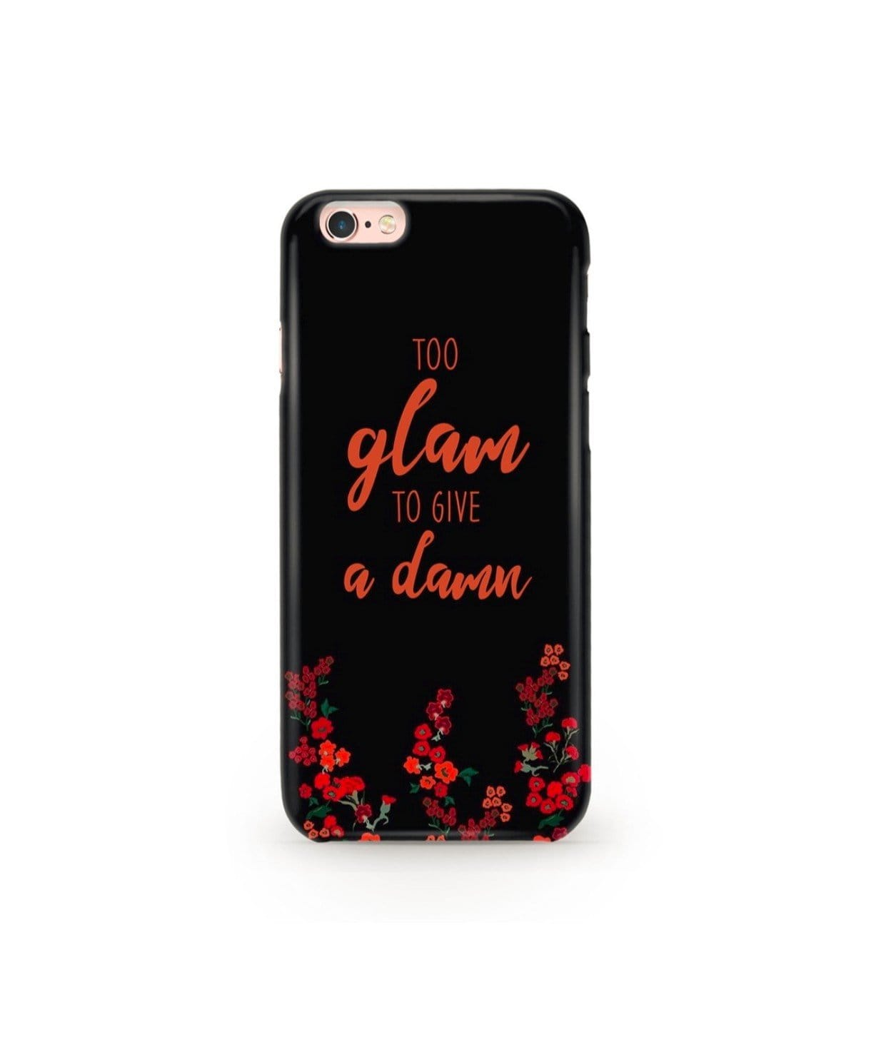 Too Glam Phone Cover (Personalisation Available) - Uptownie