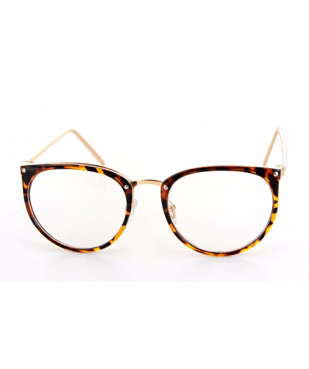 Tortoise Shell Glass Frames - Uptownie