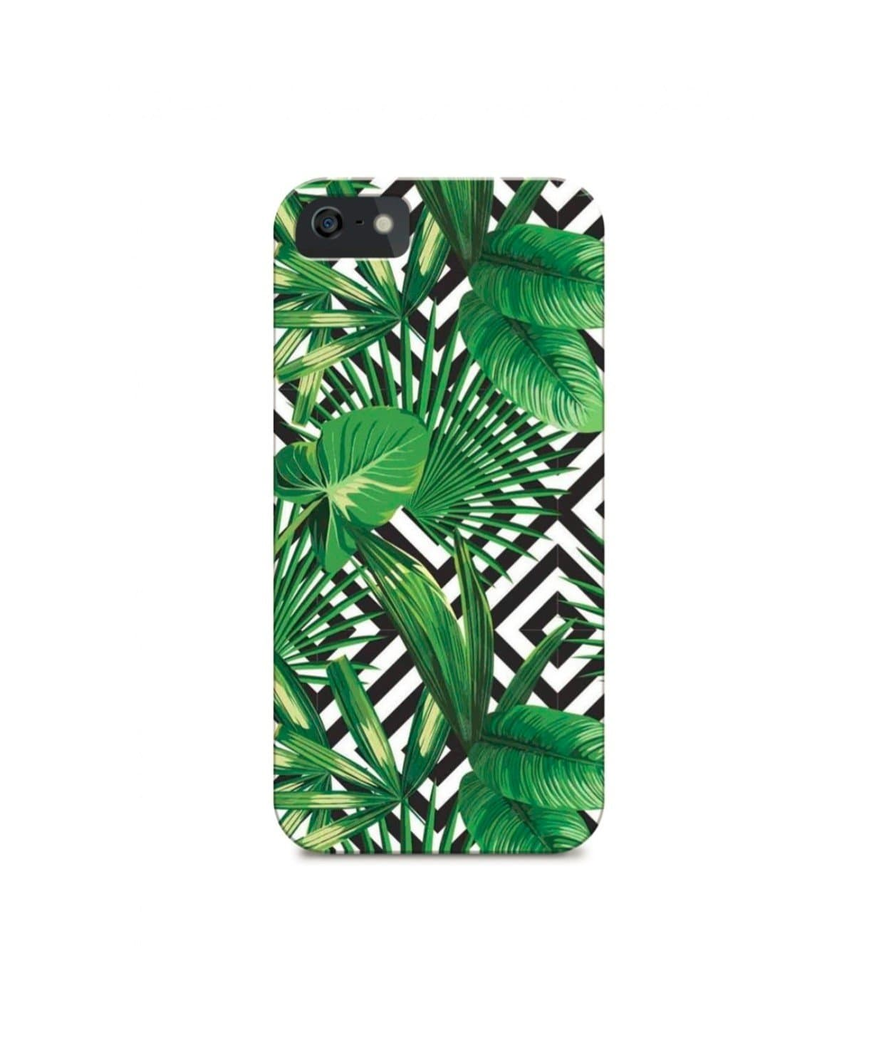 Tropical Monochrome Phone Cover (Personalisation Available) - Uptownie