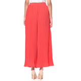 Uptownie Plus Coral Pleated Crepe Palazzo 4 trendsale
