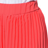 Uptownie Plus Coral Pleated Crepe Palazzo 6 clearance sale