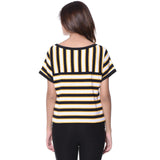 You rock my boat stripe top (Cotton)