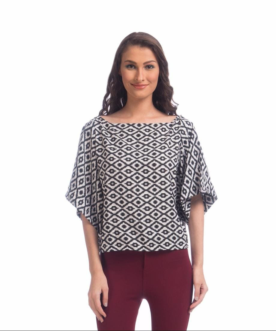 The Paris is a State of Mind Crepe Top - Uptownie
