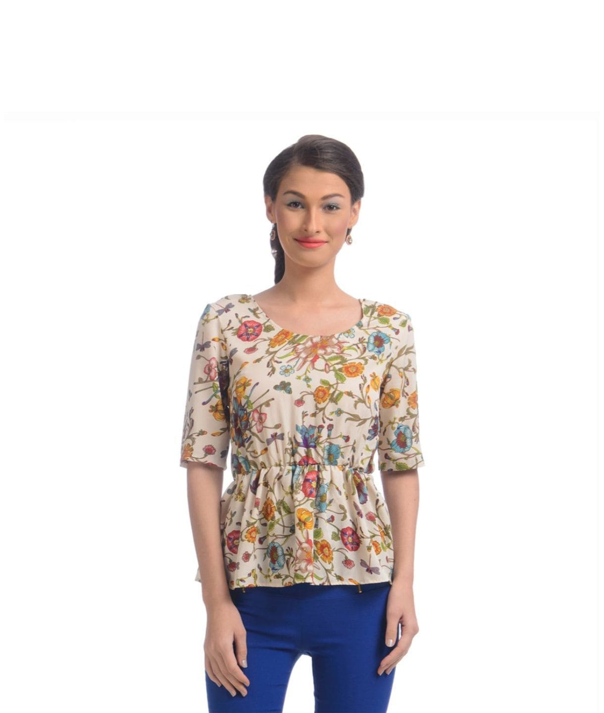 The Wonderfully Woman Peplum Top