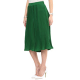 Uptownie Dark Green Pleated Culottes 2 clearance sale