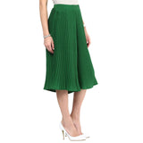 Uptownie Dark Green Pleated Culottes 3 clearance sale