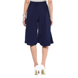 Uptownie Navy Blue Knee Culottes 5 clearance sale