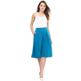 Uptownie Sky Blue Adjustable Culottes 6 clearance sale