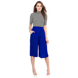 Solid Royal Blue Culottes