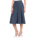 Uptownie Grey Box Pleat Adjustable Culottes 2 trendsale