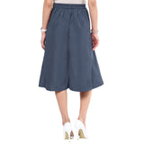 Uptownie Grey Box Pleat Adjustable Culottes 4 summer sale