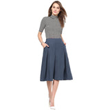 Uptownie Grey Box Pleat Adjustable Culottes 5 summer sale