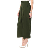Uptownie Olive Green Palazzo 2 Sale at 399