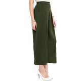 Solid Army Green Palazzos