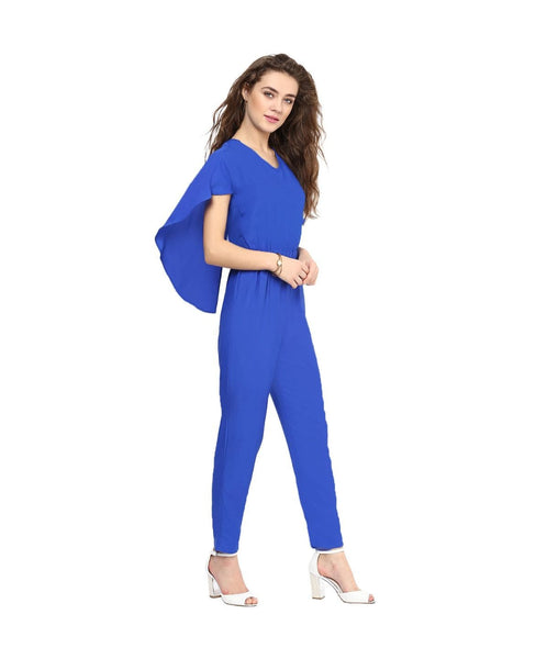Blue Back Cape Jumpsuit. BUY 1 GET 3