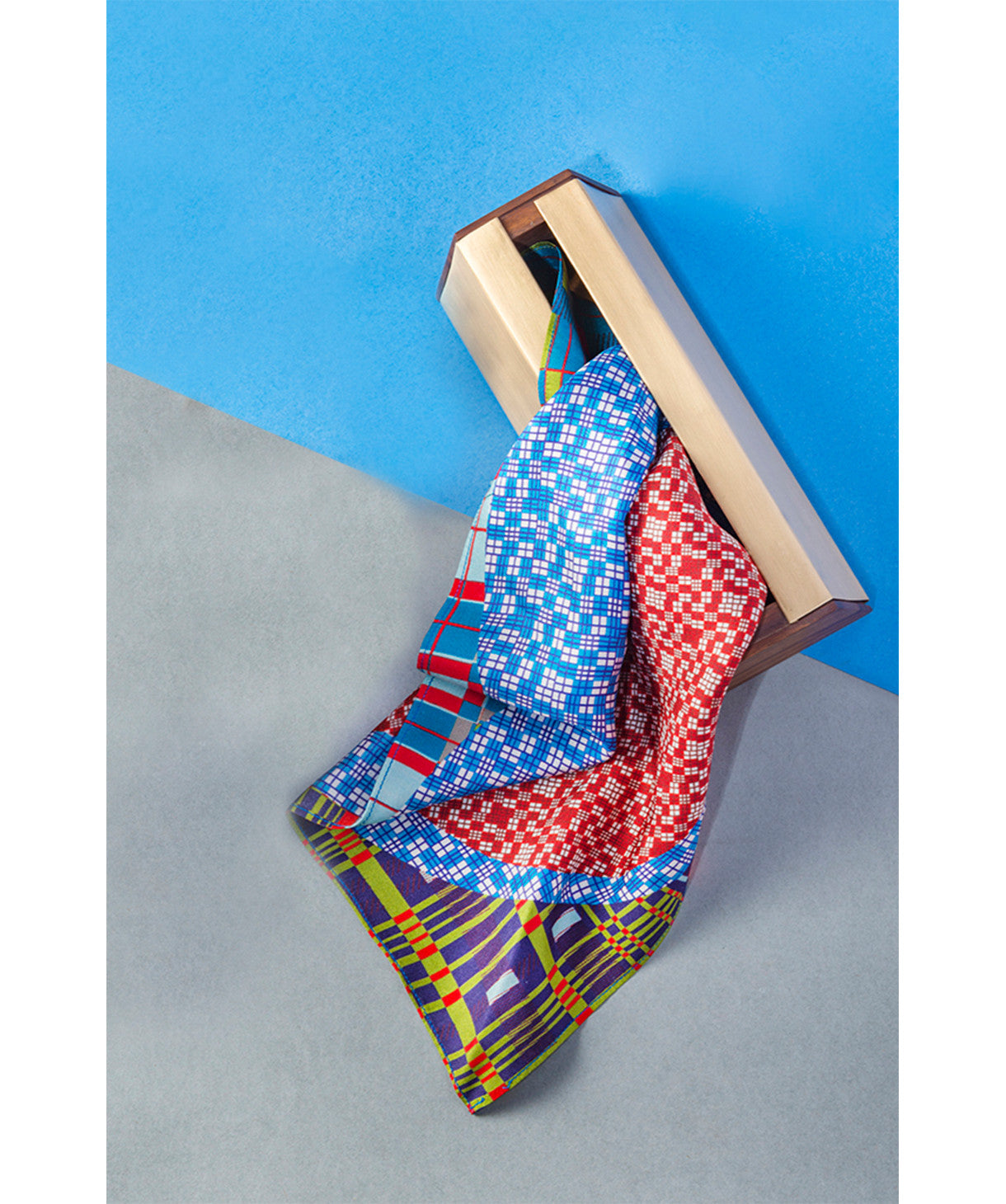Printed Multicolored Pocket Square