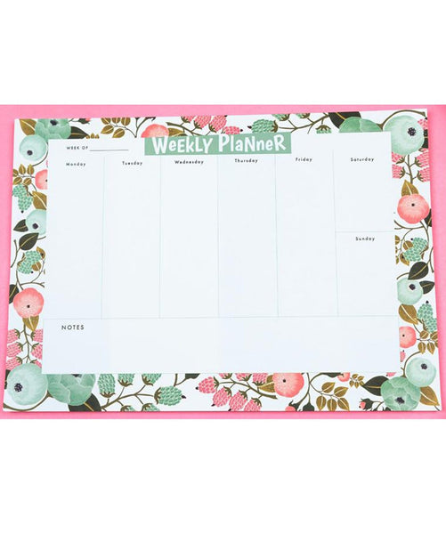 Blossomy Weekly Planner - Uptownie