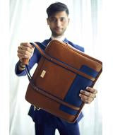 Uptownie X 2AM-Gentlemen Laptop Bag. Uptownie.