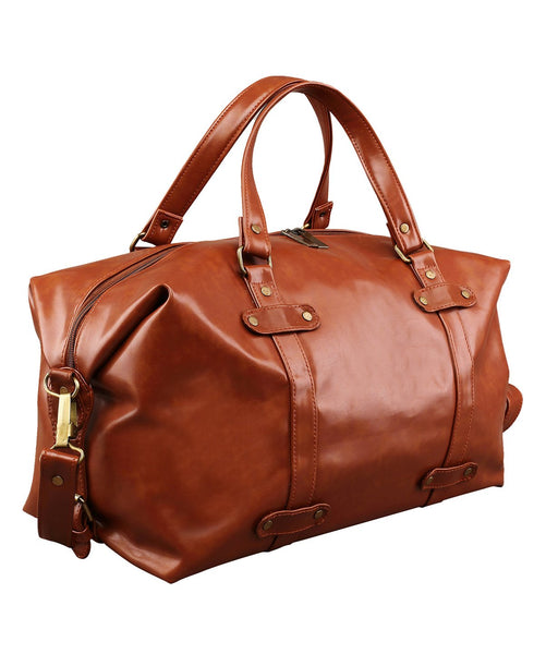 Uptownie X 2AM-Trendy Tan Travel Duffle. Uptownie.