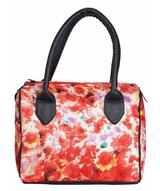 Uptownie X Azzra Multicolor Duffle Handbag (Red). Uptownie