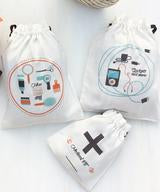 Uptownie X Whistling Yarns Knick Knack Bags(Pack of 3). Uptownie.