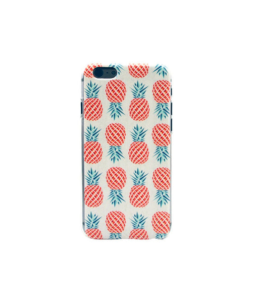 White Pineapple Phone Cover - Uptownie