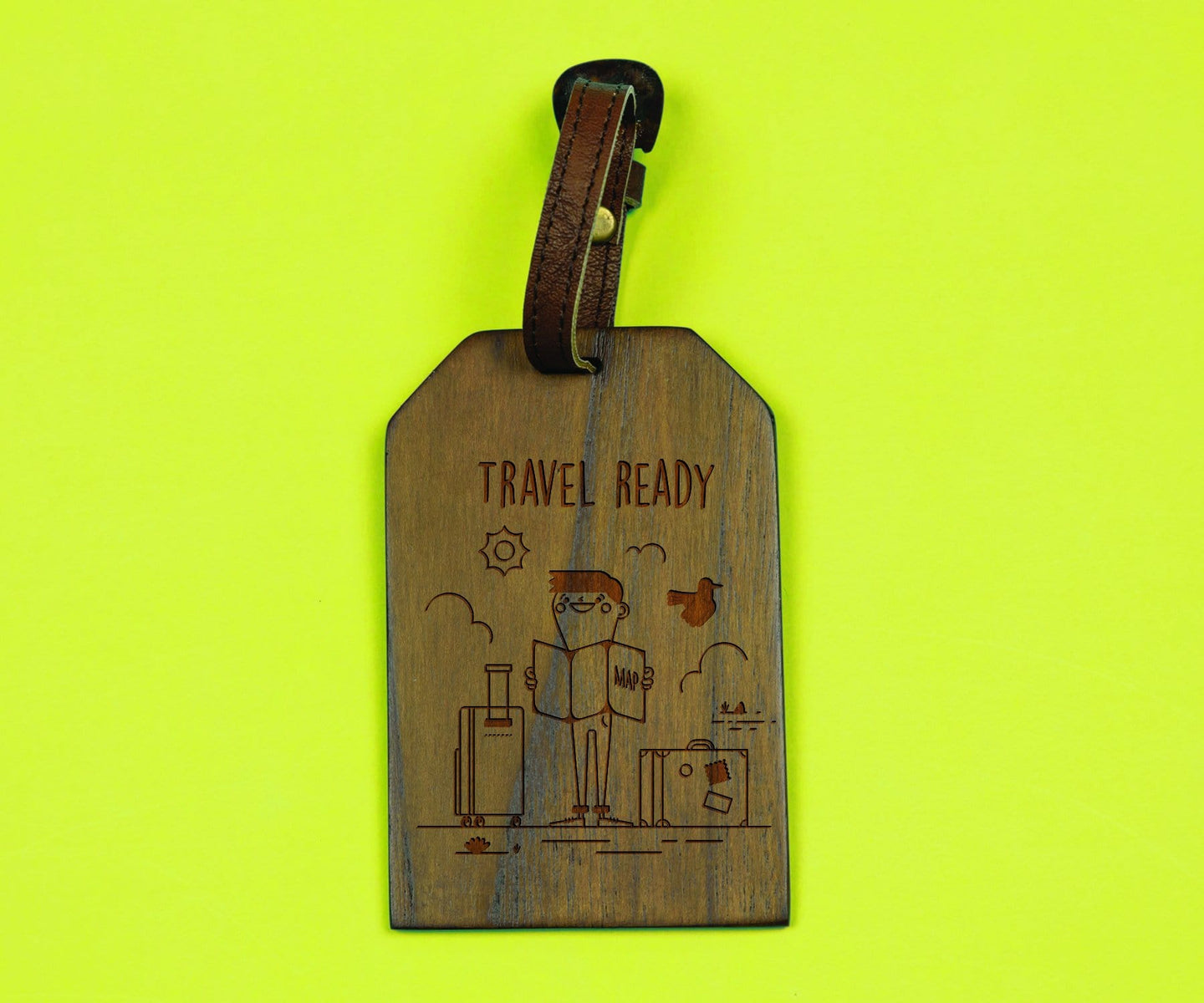 Travel Ready Boy (Personalisation Available) - Uptownie