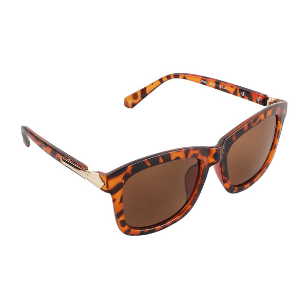 Brown Hustle Sunglasses - Uptownie