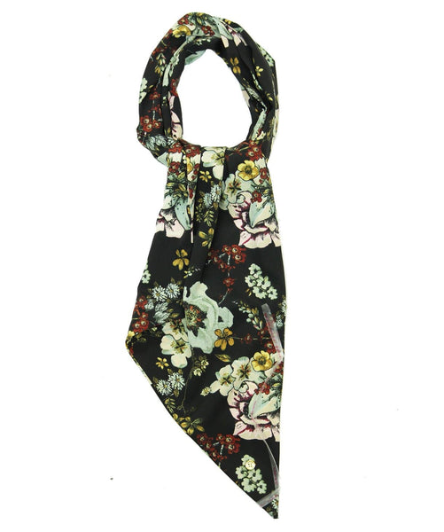 The Night Time Floral Scarf