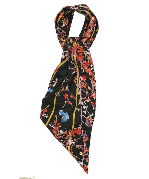 The Oriental Floral Scarf