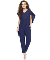 Navy Back Cape Jumpsuit. BUY 1 GET 3