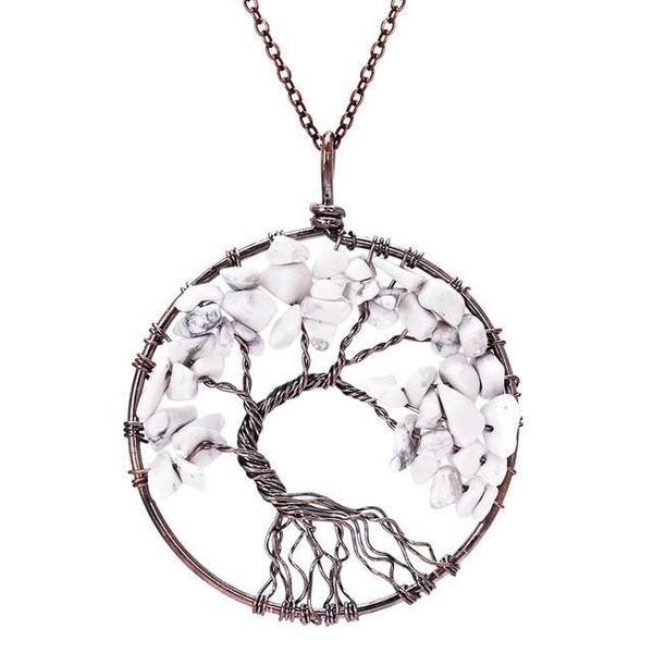 Magnificent handmade tree of life natural stone pendant necklace magnificent handmade tree of life natural stone pendant necklace aloadofball Images