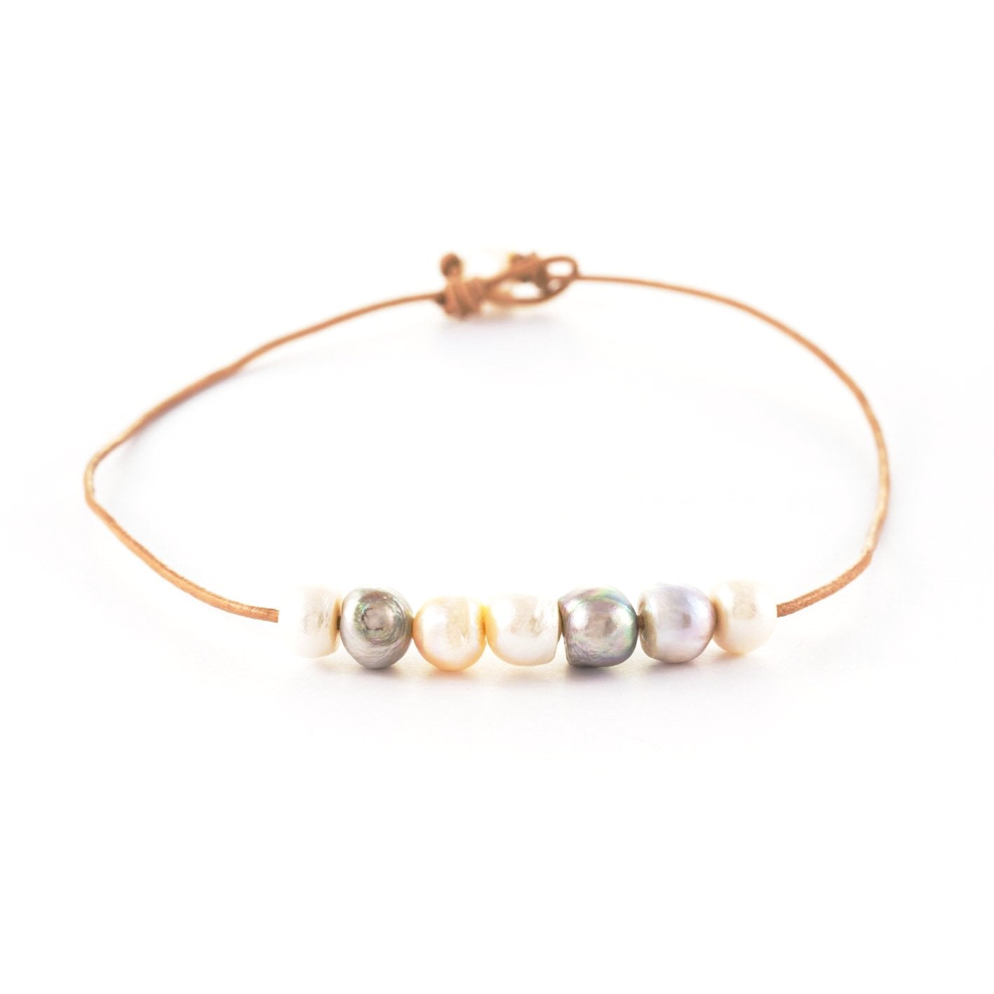 Libby Pearl Short Necklaces | Stones That Rock